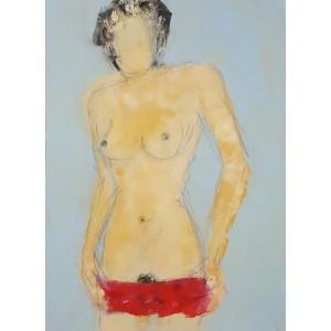 femme au dos nu