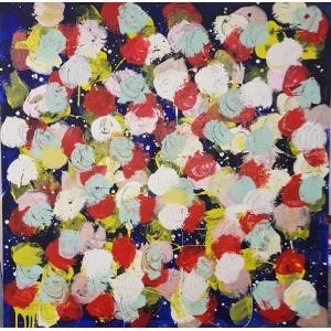 1500 EUROS : Fleurs multicolores