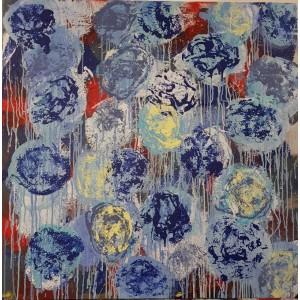 1500 EUROS : Fleurs bleues